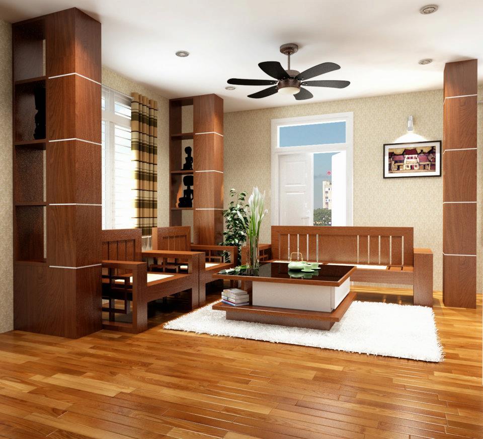 Thiết kế thi công nội thất cho nhà phố theo phong cách hiện đại