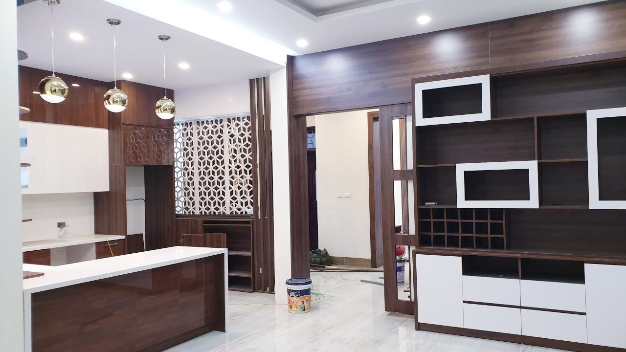 Phong cách thiết kế thi công nội thất chung cư hiện đại