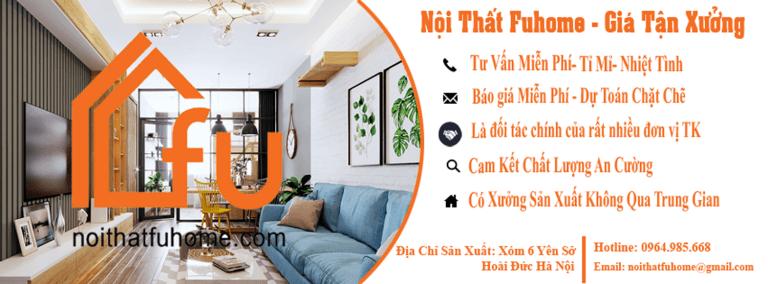 Nội thất Fuhome - Chuyên thiết kê thi công nội thất Hà Nội