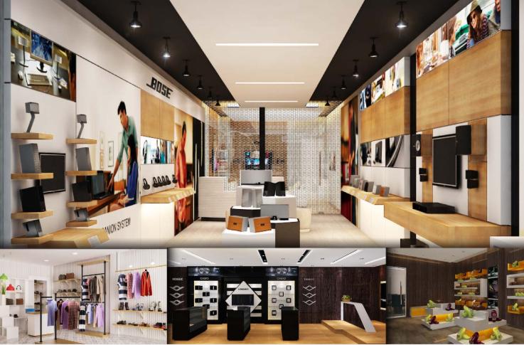 Thiết kế nội thất Showroom theo xu hướng hiện đại 2