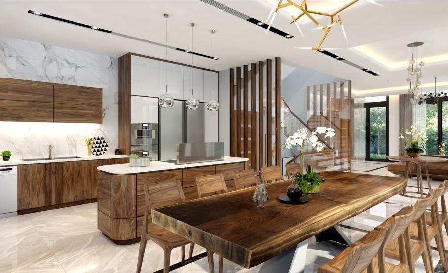 Thiết kế nội thất chung cư mini đẹp hiện đại