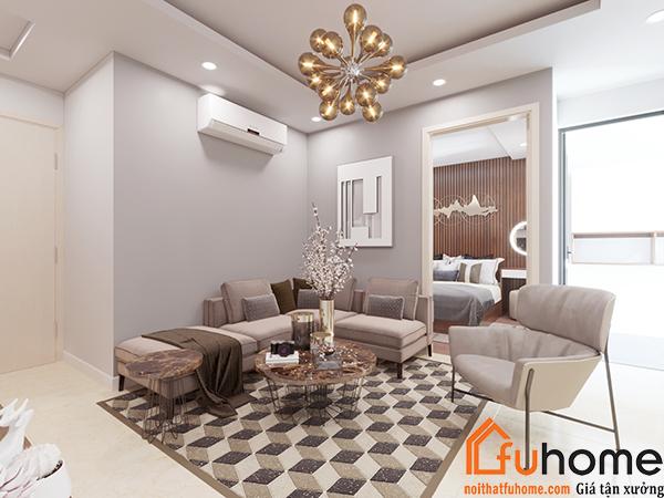 Thiết kế nội thất chung cư nhỏ sang trọng và tiết kiệm