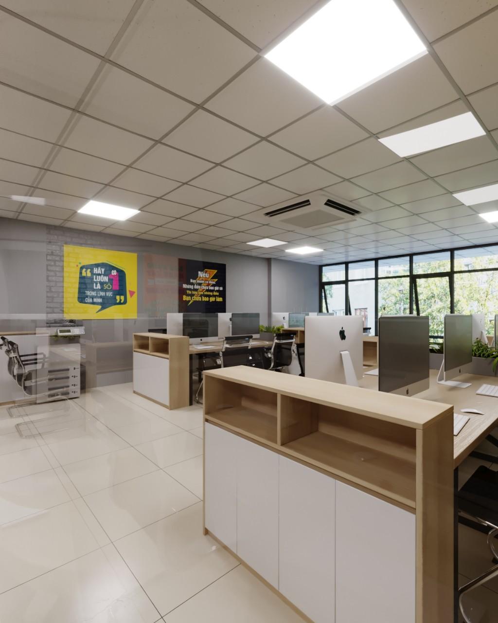 Bí quyết chọn đơn vị thiết kế thi công nội thất văn phòng
