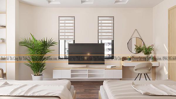 Lưu ý khi thiết kế căn hộ chung cư rộng 90m2