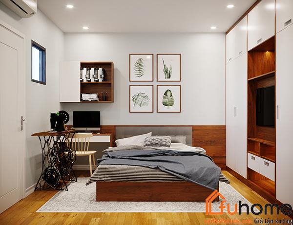 Thiết kế bàn làm việc cho căn hộ chung cư