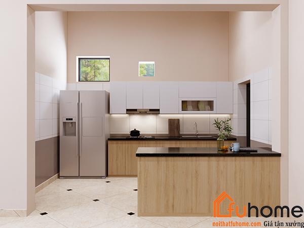 Làm thế nào có được thiết kế nội thất phòng bếp nhỏ đẹp,đơn giản mà tinh tế
