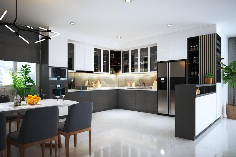 Hướng dẫn thiết kế nội thất chung cư 75m2 đẹp miễn chê