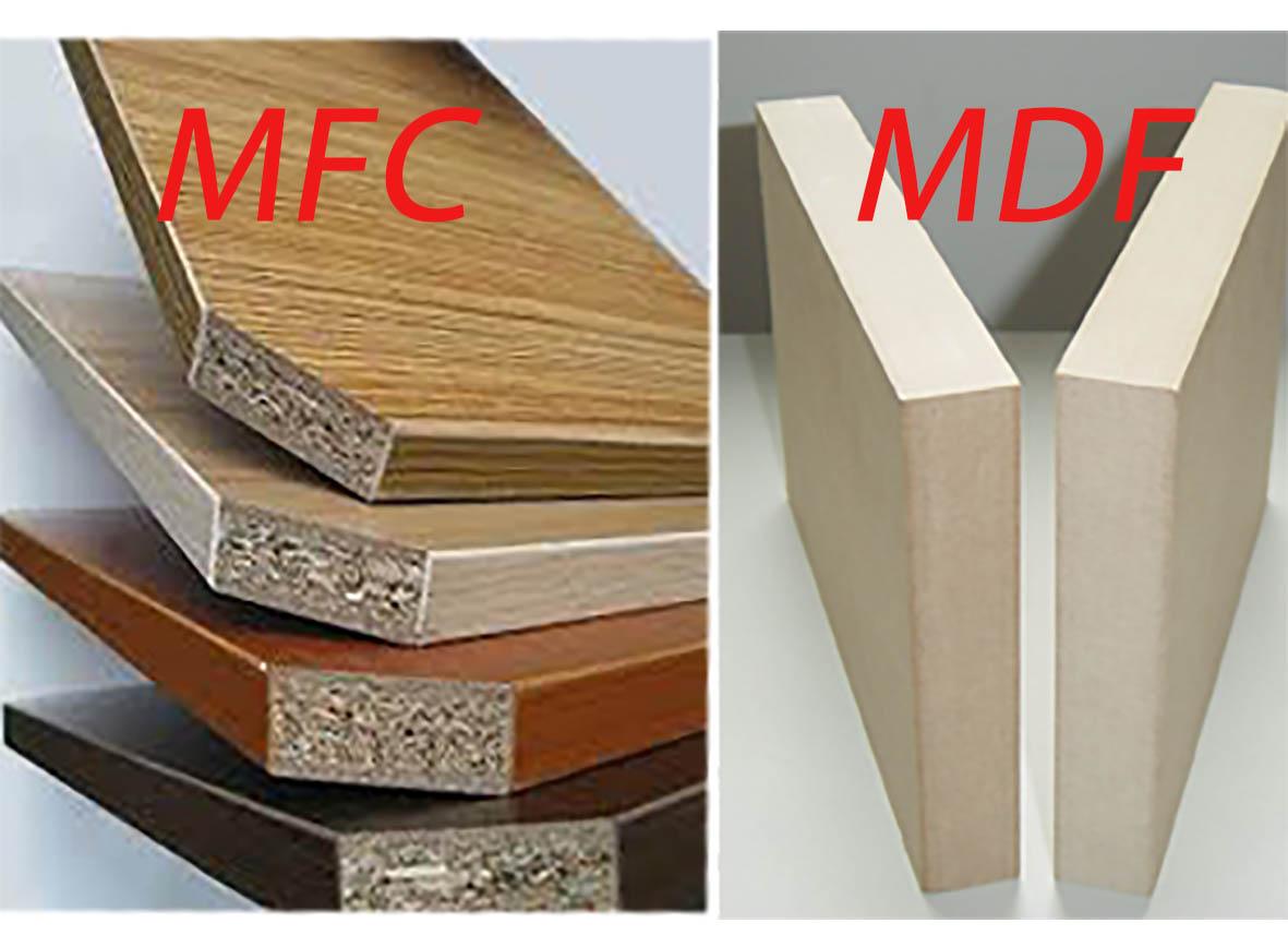 So sánhgỗ công nghiệp MDF và gỗ MFC