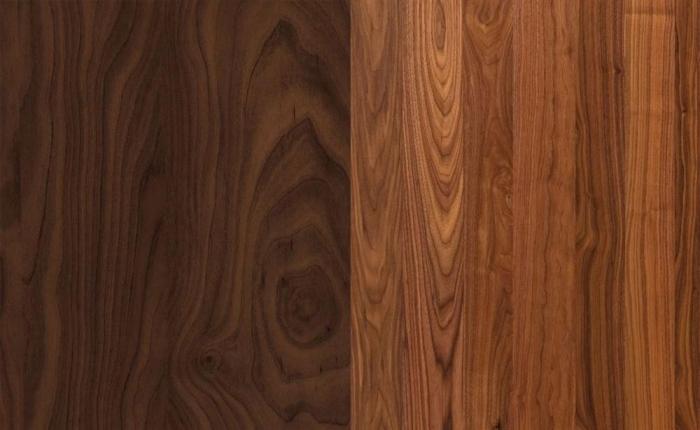 Các vẫn gỗ tự nhiên chính là điểm khác biệt lớn nhất so với gỗ công nghiệp