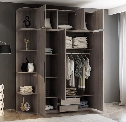 Tủ quần áo gỗ công nghiệp có thể chống mối mọt tuyệt đối