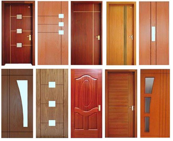 Cửa gỗ công nghiệp có thiết kế kiểu dang và mẫu mã rất đa dạng