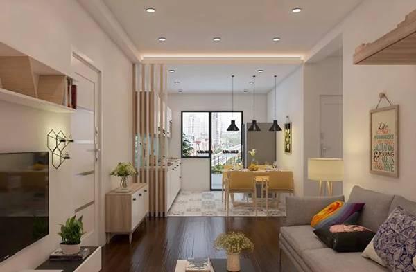 thiết kế và thi công nội thất chung cư 90m2 1