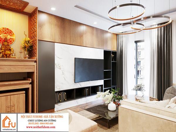 Thiết kế nội thất chung cư giá rẻ đơn giản phong cách