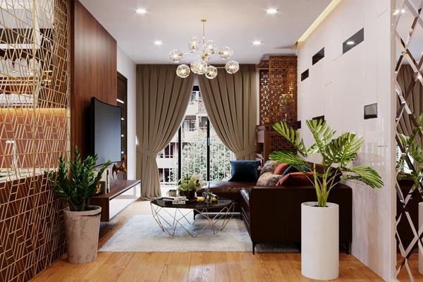 Thiết kế nội thất nhà chung cư nhỏ theo phong cách Bắc Âu