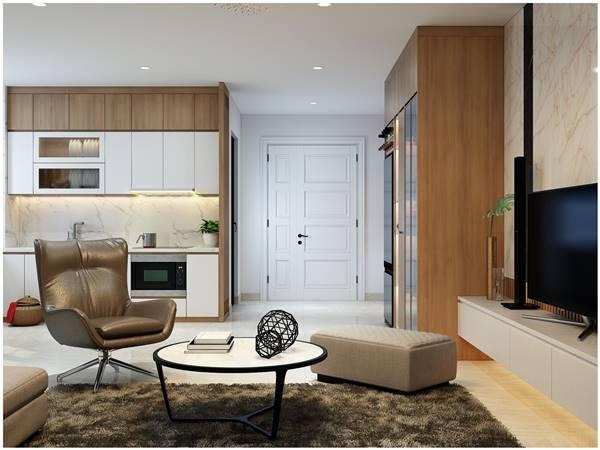 thiết kế nội thất nhà chung cư 80m2 1