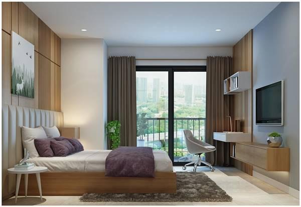 thiết kế nội thất nhà chung cư 80m2 3