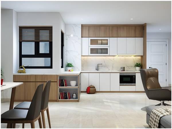 thiết kế nội thất nhà chung cư 80m2 2